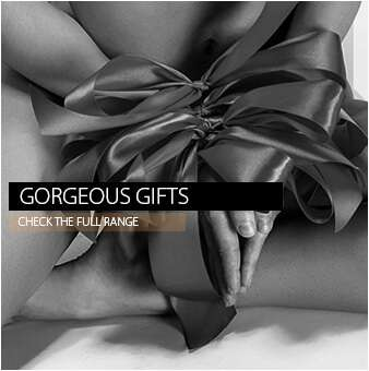womans hands tied with ribbons like a gift black and white