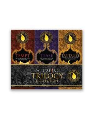 wildfire trilogy collection - aphrodisiac essential oils set