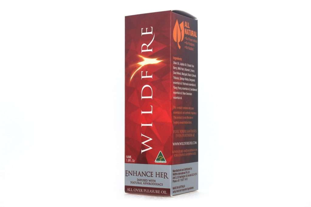 best lubricant for menopause dryness - wildfire enhance her 50ml box