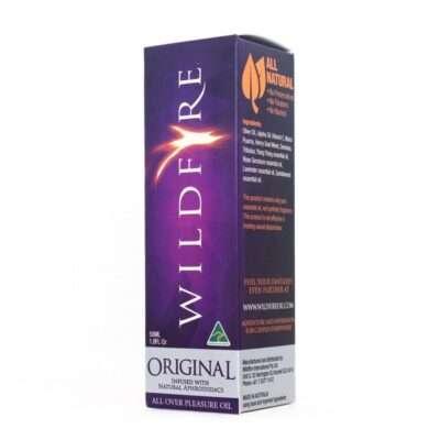 wildfire relaxing massage oil - original 50ml box
