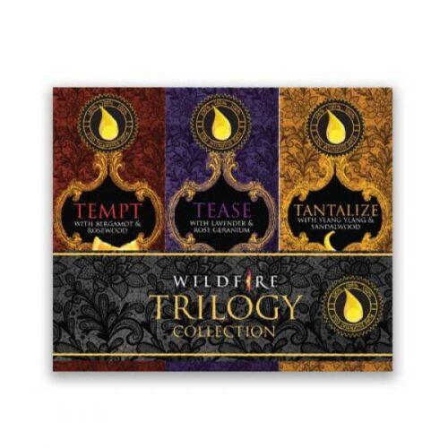 wildfire trilogy collection - aphrodisiac essential oils set